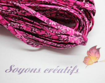 50cm cord Liberty Of London Wilmslow Berry - creating jewelry-