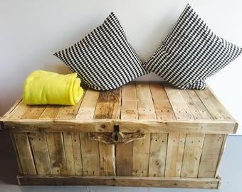 Wooden Bedroom Ottoman
