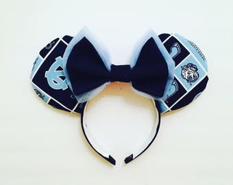 Game Day UNC Mouse Ears