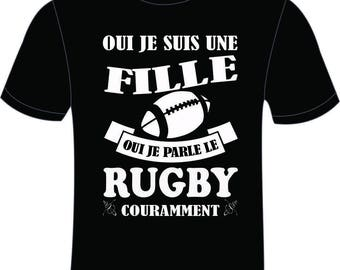 T-shirt men Exact 190 100% black cotton B & C for women Rugby