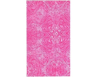 zebra pink ref 484 patchwork fabric