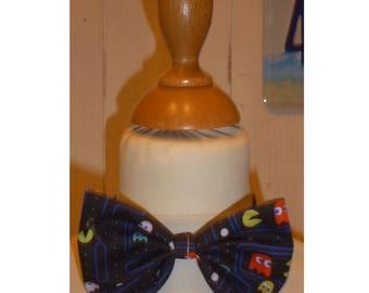 Bow tie boy printed Pacman