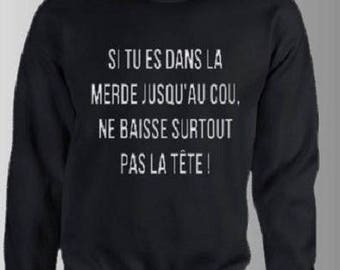 HOODIE FUNNY TEXT