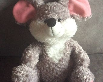Hot/cold plush mouse