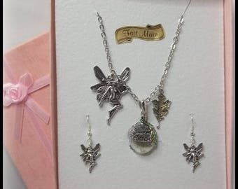 Fairy dust necklace.