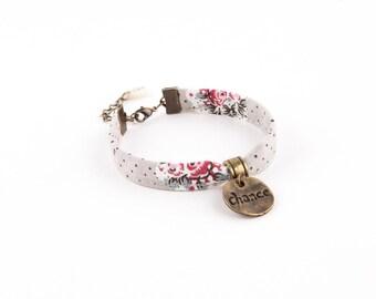 Wristband CHABENCO gray brass