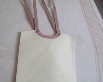 Yellow packaging bag