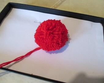 Big Red Pompom
