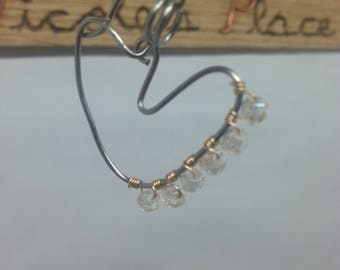 Elegant Heart earrings