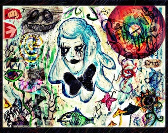 Love Suffer Decay (Mixed media)