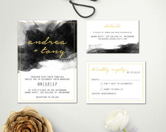 Wedding Invite Design | Digital Download Wedding Invitation | Wedding invitations | Wedding Invites | ZARA SUITE