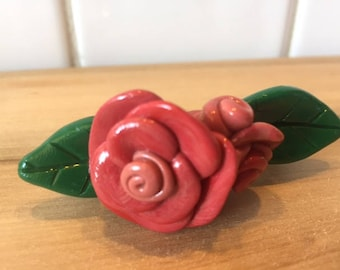 Rose hairclip