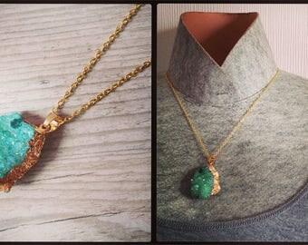 """Necklace """"Precious glass"""" fantastic inspiration"""