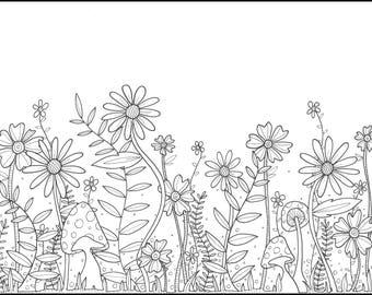 Printable Coloring Page | Garden2