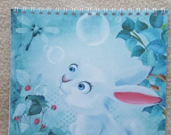 dreamy rabbit drawing book