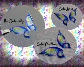 """""""The Butterfly"""" Royal blue butterfly wings"""