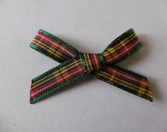 Plaid fabric bow code 1055 BUCHANAN 7 mm