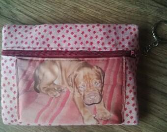 custom photo key pouch