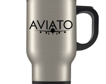 Silicon Valley Travel Mug - Aviato Inspired - Great Coffee Cup Gift for Fans of the Show