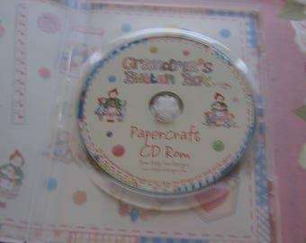 Katy Sue, Grandma's Button Box, Papercafting CD-ROM
