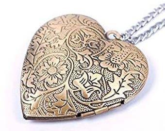 Heart Shaped Perfume Locket