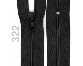 black nylon closure size 20 cm