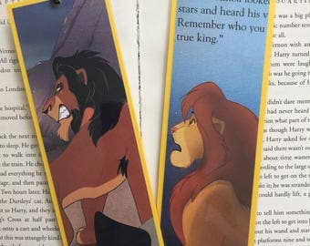 The Lion King Disney Bookmarks