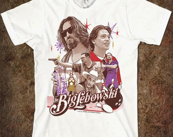 Big Lebowski Art T-shirt, Men's Women's All Sizes