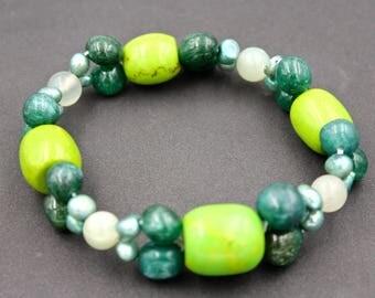 Halit fluorite Beads Bracelet