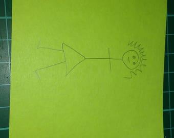 Personalized Sticky Note