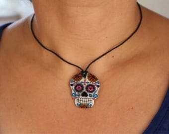 Mexican skull Choker