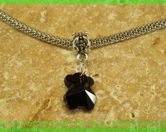 bail N71 European spacer bead for bracelet charms