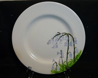 Bluebell plate