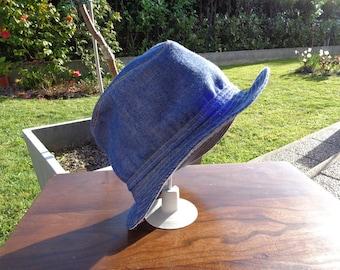 "CHILD hat ""borsalino"" canvas ""jean"""