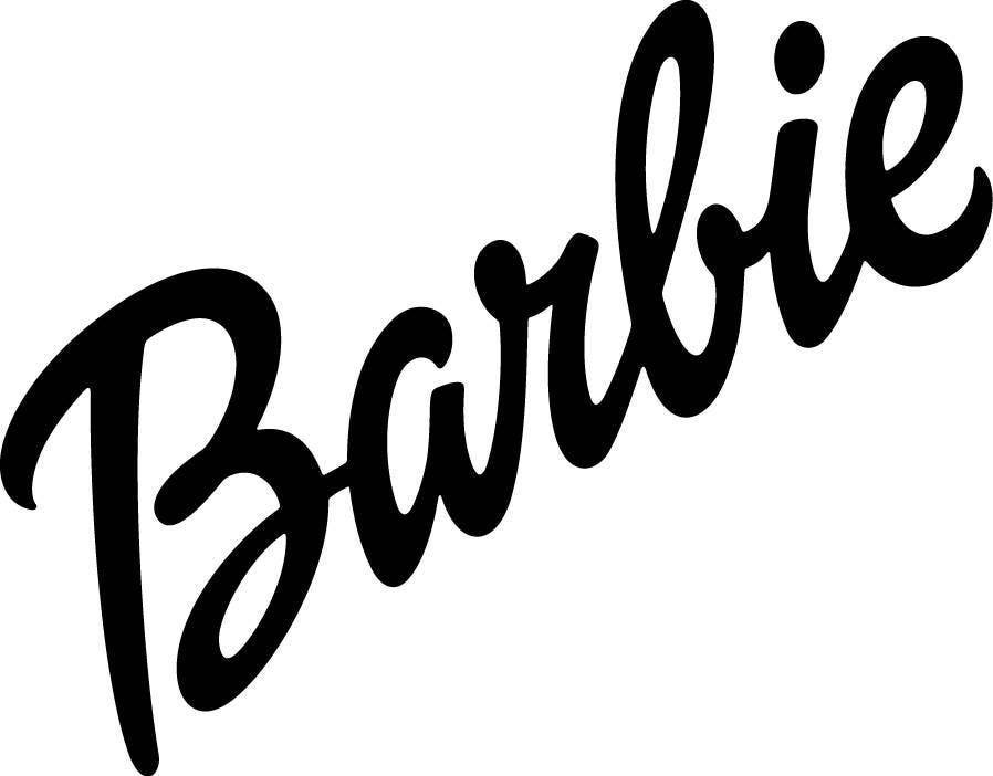 barbie logo coloring pages | Barbie svg - Barbie logo svg - Barbie silhouette - Barbie ...
