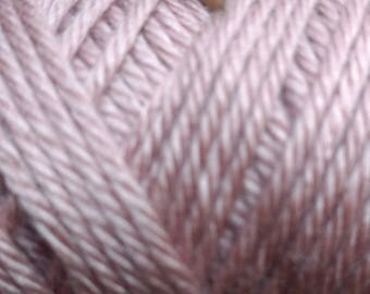 Pale Pink Cabled Scarf