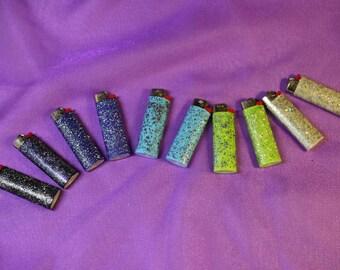 Glitter Lighters
