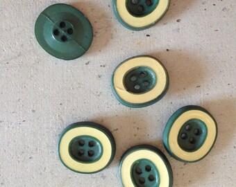 Set green buttons