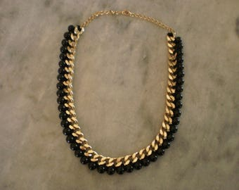 Trendy chain necklace links gold