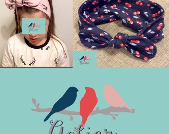 Headband girl customizable one size