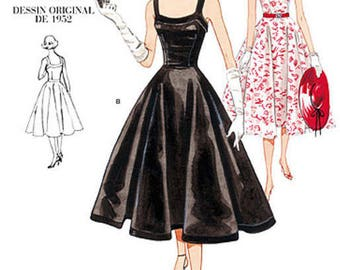 By Vogue V2902 retro vintage sewing pattern