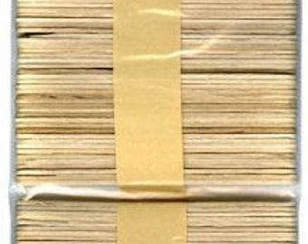 BAZIC Natural Craft Sticks, Wood, 100 Per Pack