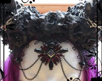 Gothic Forest Queen Headdress