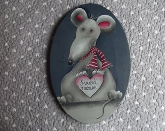 Pretty picture Ratatouille child decor - mouse
