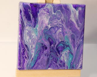 Mini Poured Painting 025