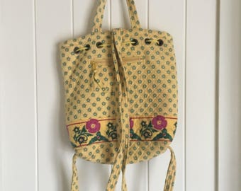 Paisley Quilted Bag