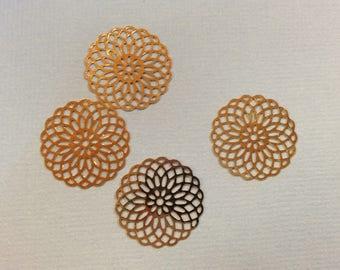 prints 10 spacer metal 20mm rose gold jewelry headband