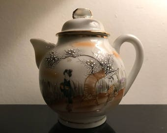Vintage japanese Teapot excellent condition