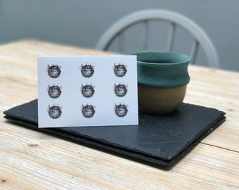 Pufferfish Card, designed & made in the UK