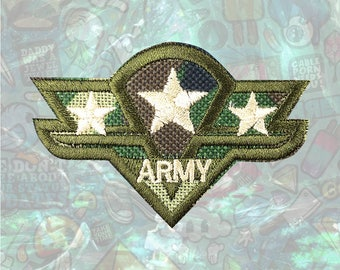 ARMY US Military Patch Iron on Patch Sew On Patches back patch
